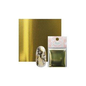 ネイルホイル ジェルネイル ピアドラ 転写箔 ゴールドの1枚目の写真
