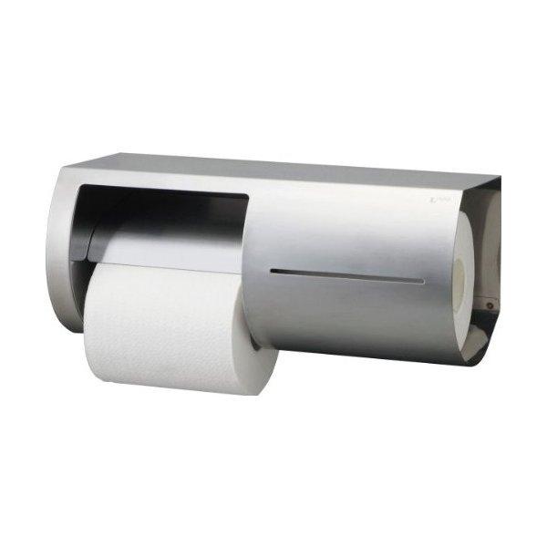 LIXIL(リクシル) INAX トイレ用 棚付ワンタッチ式紙巻器 左仕様 KF-66Lの1枚目の写真
