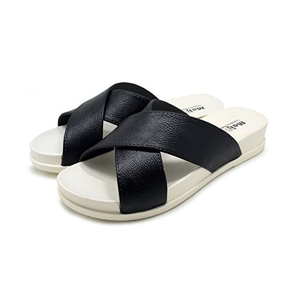 [AMANGU]レディース サンダル ヒール スリッパ ルームシューズ お風呂 メンズ 室内履き 女の子 おしゃれ 可愛い ビーチ 携帯 夏 来客用の1枚目の写真