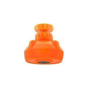 GAONA これエエやん キッチンシャワー 首振り式 オレンジ GA-HK004 1の1枚目の写真