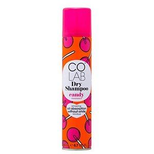 COLAB DryShampoo ドライシャンプー CANDY ラズベリー&バニラのスイートな香り 200mlの1枚目の写真