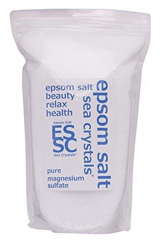 シークリスタルス 国産 エプソムソルト (硫酸マグネシウム) 入浴剤 2.2kg約14回分 浴用化粧品 計量スプーン付 無香料の1枚目の写真