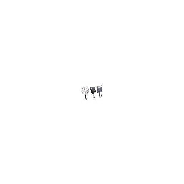 Perfk 美しい フック ハンガー ラック 壁掛け 装飾的 3個/セット 多種選べる - Eの1枚目の写真