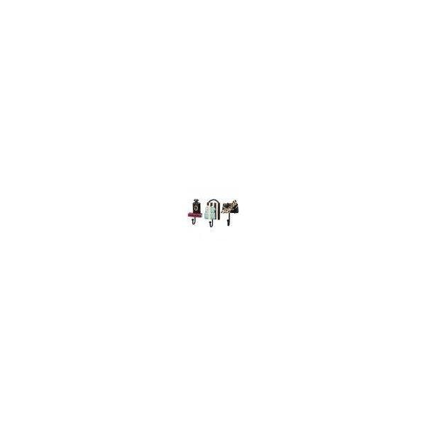 Perfk 美しい フック ハンガー ラック 壁掛け 装飾的 3個/セット 多種選べる - Fの1枚目の写真