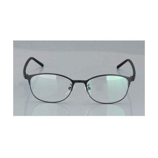 FidgetGear フォトクロミック眼鏡メタルフレームカラーチェンジレンズ老眼鏡+ 1.0*+ 4.0 ブラックの1枚目の写真