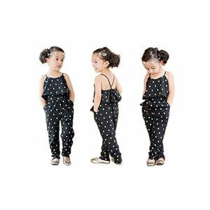 BAO8 子供服 女の子 ワンピース ハート型 ロンパー ジャンプスーツ 長パンツ 袖なし夏 ベスト 2点セット 赤ちゃん服 ガールズ 春着 夏物の1枚目の写真