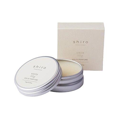 shiro ホワイトリリー 練り香水 18g  すっきりと清潔感ある香りの1枚目の写真
