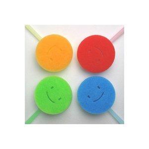 マーナ 首ふりバスタブ洗いリフィル 全4色 交換ヘッド MARNA お風呂掃除 バススポンジ 大掃除の1枚目の写真