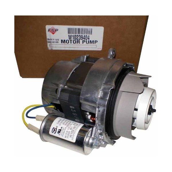 Whirlpool w10239404*W10757217ポンプモーターの1枚目の写真