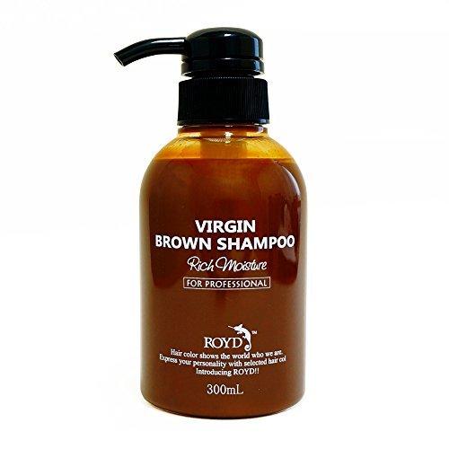 ROYDカラーシャンプー ヴァージンブラウンの1枚目の写真