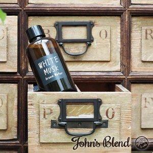 ジョンズブレンド アロマウォーター3 加湿器用お部屋の芳香剤 芳香剤 ホワイトムスク 大容量タイプ ホワイトムスク アップルペアーの1枚目の写真