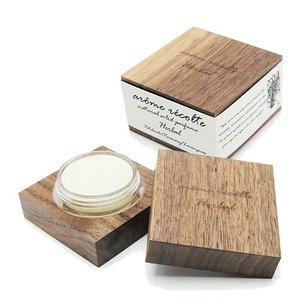 アロマレコルト ナチュラル ソリッドパフューム ハーバル Herbal arome recolte 練り香水の1枚目の写真