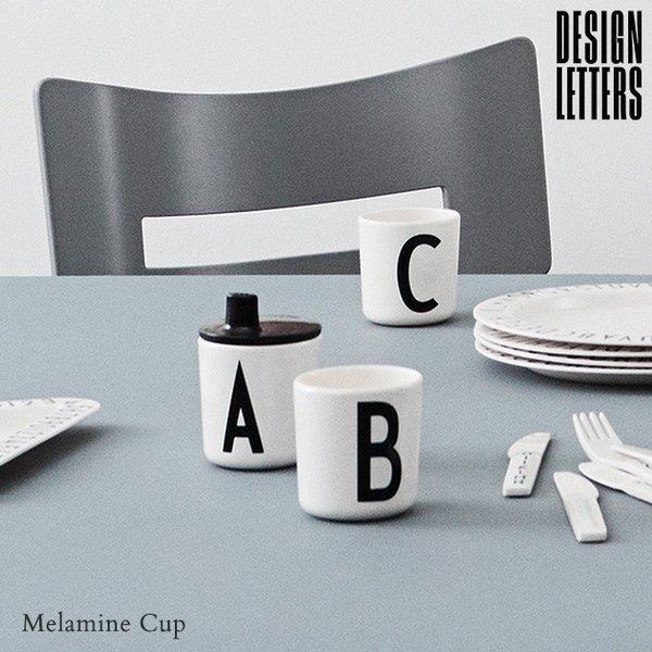 メラミンコップ メラミン 食器 コップ カップ 子供 こども キッズ DESIGN LETTERS デザインレターズ メラミンカップの1枚目の写真