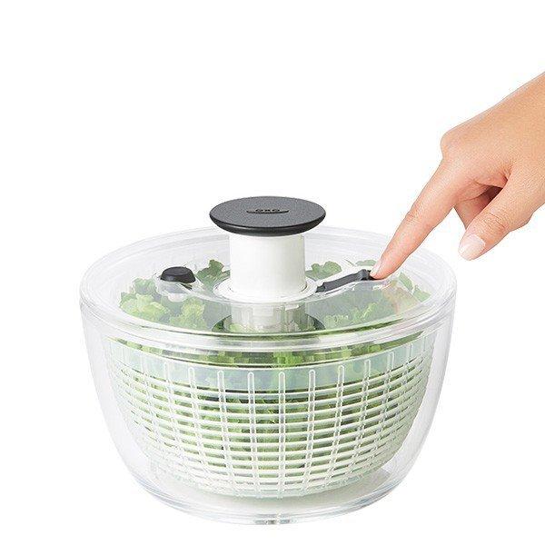 野菜水切り器 クリアサラダスピナー 小 オクソー OXO 11230500の1枚目の写真