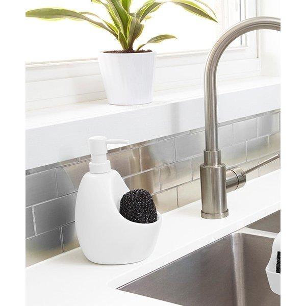 ソープディスペンサー 食器用洗剤 ジョーイ キッチンポンプ Umbra アンブラ ホワイト 白 キッチン プレゼント ギフト おしゃれ カナダ 新生活の1枚目の写真