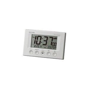 リズム時計工業 電波目覚まし時計 8RZ166SR03の1枚目の写真