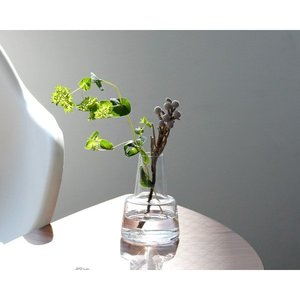 ホルムガード フローラ ベース 12cm ミディアム クリア Holmegaard Flora vaseの1枚目の写真