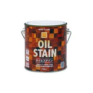 ペンキ 塗料 木製品 工作 着色 油性 5色 ニッペ オイルステイン 750mlの1枚目の写真