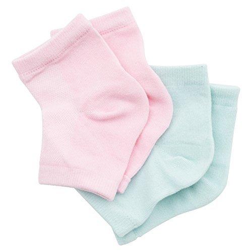 Viaura(ヴィオーラ) かかと 靴下 ソックス 角質ケア 滑らか スベスベ ツルツル うるおい ィース メンズ 男女兼用 フリーサイズ 2足セットの1枚目の写真