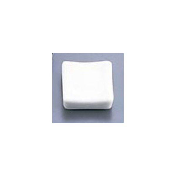 エムズジャパン 白釉角型箸置/T03−151の1枚目の写真