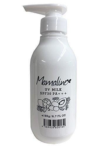 mamaline UVミルク 190gの1枚目の写真