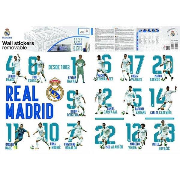 レアル マドリード F.C. ウォール ステッカー 16 プレイヤーズ / Real Madrid wall sticker 16 playersの1枚目の写真