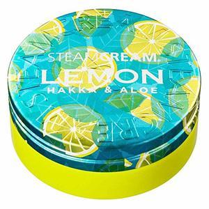 STEAM CREAM ハッカ&アロエ レモン 75gの1枚目の写真