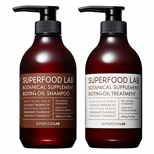SUPERFOOD LAB BIOTIN + OIL SHAMPOO & TREATMENTの1枚目の写真