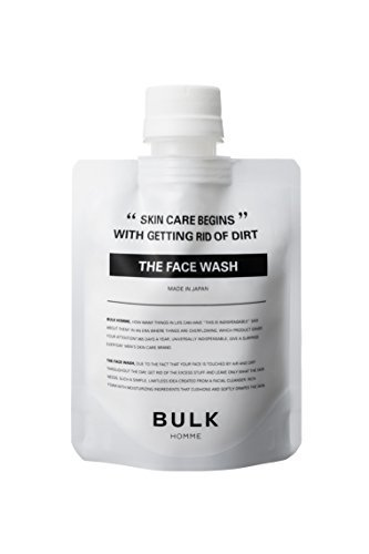 THE FACE WASH洗顔料|メンズスキンケア BULK HOMMEの1枚目の写真