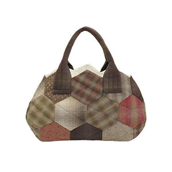 オリムパス 大畑美佳デザイン パッチワークバッグ つなぐだけでカンタン ハニカムのバッグの1枚目の写真