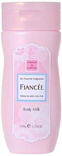 フィアンセ ボディミルクローション ピュアシャンプーの香りの1枚目の写真