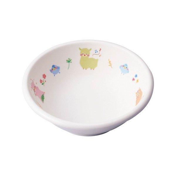 台和 メラミン食器 アルパカーナ 白 丸小鉢 KD-201-ALW RAR1301の1枚目の写真