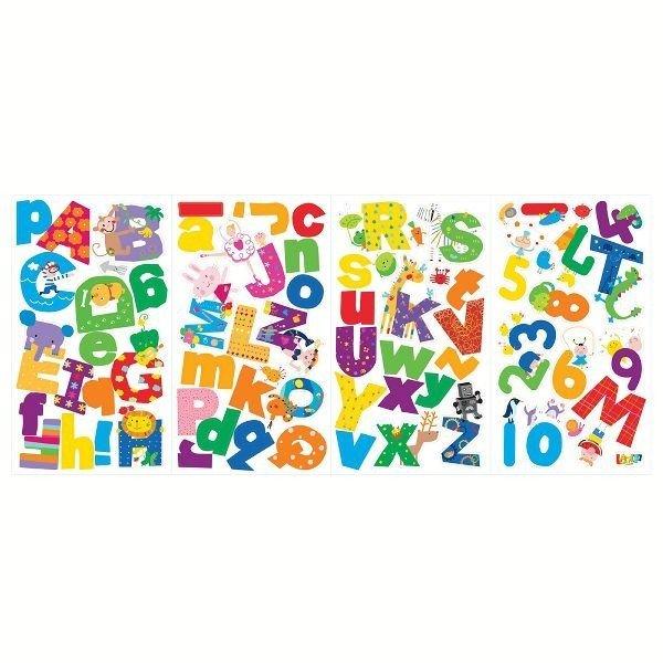 ラズーアルファベット LAZ0002SCS ルームメイツ シール ステッカー おしゃれ かっこいい ウォールシールの1枚目の写真