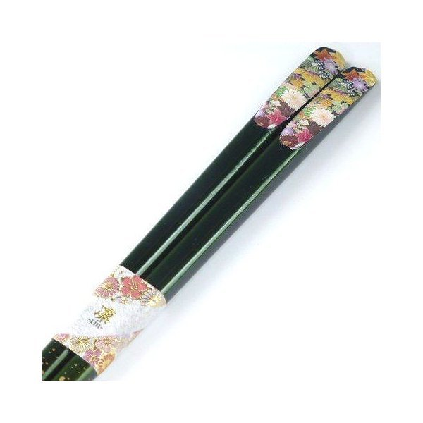 お箸 天宝花友禅箸 紅葉 23cm 箸 マイ箸 お箸 はし おはし 誕生日 プレゼント ギフト ポイントで買えるの1枚目の写真