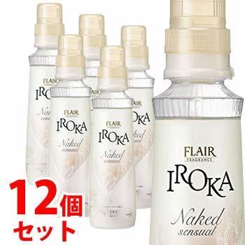 フレアフレグランス 柔軟剤 IROKA NakedSensual 本体 570mlの1枚目の写真