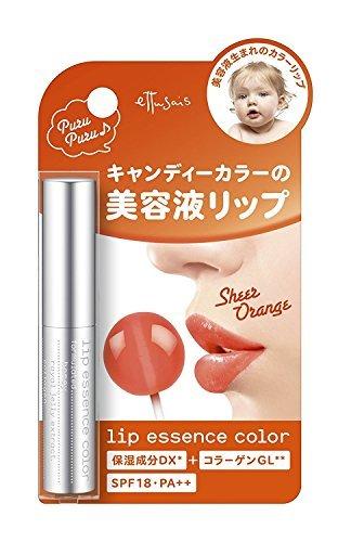 エテュセ リップエッセンスカラー OR(シアーアプリコット) 唇用美容液 SPF18・PA++ 2.2gの1枚目の写真