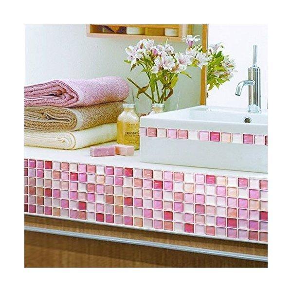 モザイクタイルシール キッチン 洗面所 トイレの模様替えに最適のDIY 壁紙デコレーション ALT-9の1枚目の写真