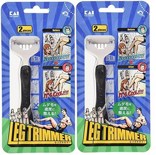 レッグトリマー2本入×2個セットの1枚目の写真