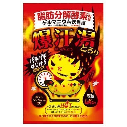 株式会社バイソン 爆汗湯 ホットジンジャーの香り 60g×5個入りの1枚目の写真
