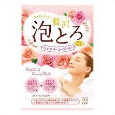贅沢泡とろ 入浴料 ジュエリーローズの香りの1枚目の写真