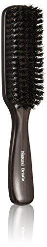 貝印 KQ1539 天然毛ブラッシングブラシ Lの1枚目の写真