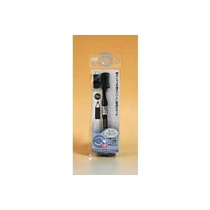 貝印 クシ付きマユブラシ マユズミ ブラック ×10点セットの1枚目の写真