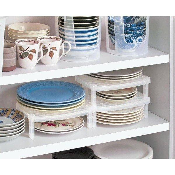 ● お皿収納ラック 均一 100均一 100均の1枚目の写真