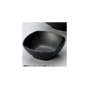 マイン メラミン食器 メラミンウェア 角深皿 黒 小 M11-134の1枚目の写真