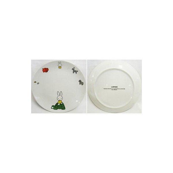 中古皿・茶碗 ミッフィー 絵皿 ハッピー子育てプロジェクトスタート記念 ミッフィー絵皿プレゼントの1枚目の写真