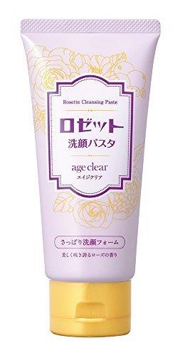 ロゼット洗顔パスタ エイジクリア さっぱり洗顔フォームの1枚目の写真