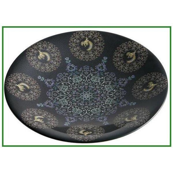 pos.464980 天平文様 鳳凰 陶器 5.0寸皿 CAPT2 b03の1枚目の写真