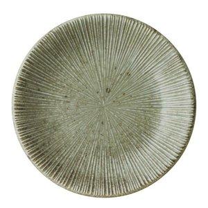美濃焼 和食器 うぐいす 千段4.5皿 φ15×2.2cm 業務用 どんぶり 飲食店 プロユース 皿の1枚目の写真