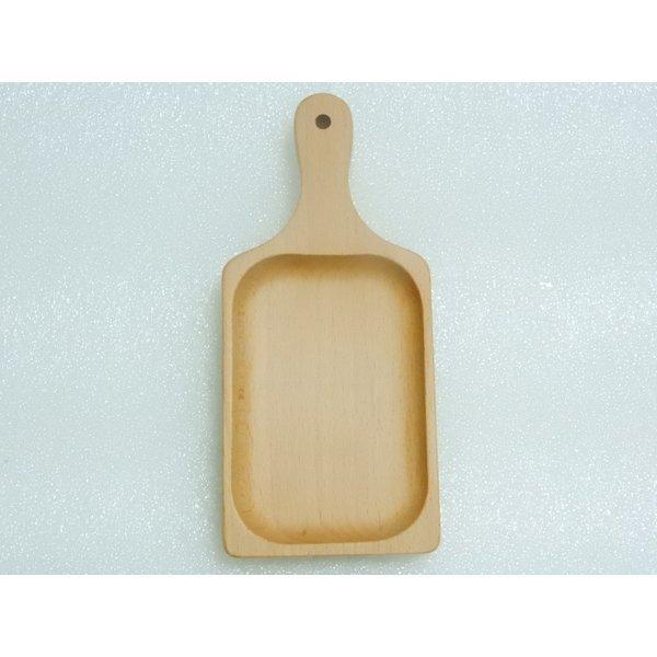 ブナぷちサービングプレート 丸十 木製小皿 ミニ木製プレート皿 食器皿 台所用品 春の1枚目の写真