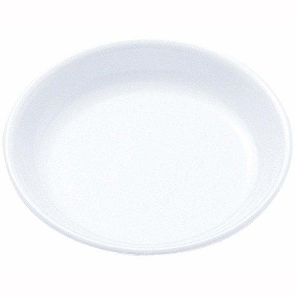 ナガオ メラミン樹脂 白い食器 和皿 10.5cm No.40の1枚目の写真